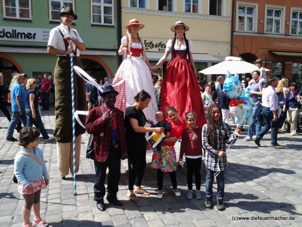 Die Riesenbayern in Landshut